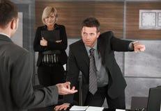 executive aktivering för anställd Royaltyfria Foton
