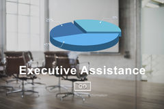 Executive Assistance Business Collaboration Helping Concept Stock Photography