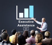 Executive Assistance Corporate Business Web Online Concept Stock Photography