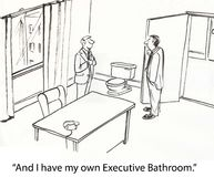 Executive Bathroom Stock Photos