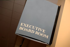 Executive Board, Copy Space Stock Photography