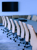 Executive boardroom in an office building Stock Images
