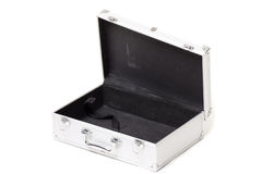 Executive briefcase black Royalty Free Stock Photos