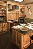 Executive business office cabinetry Stock Image