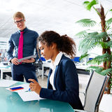 Executive business people team meeting at office Royalty Free Stock Photography