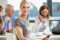 Executive business woman Stock Photo