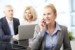 Executive business woman Royalty Free Stock Photo