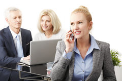 Executive business woman Royalty Free Stock Image
