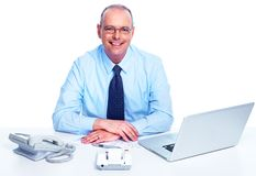Executive businessman. Stock Photo