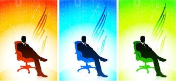 Executive businessman Set Royalty Free Stock Photography