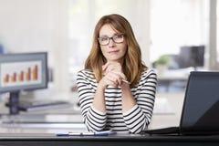 Executive businesswoman Stock Photos
