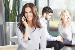 Executive businesswoman Royalty Free Stock Photos