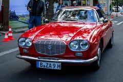 Executive car Lancia Flavia Sport 1.8 Zagato, 1965. Stock Photo