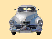 Executive car of 1950s fastback GAZ-M20 Pobeda version II front Royalty Free Stock Images