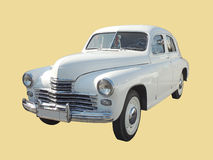 Executive car of 1950s fastback GAZ-M20 Pobeda version II Stock Photo