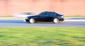 Executive car speed Royalty Free Stock Photo