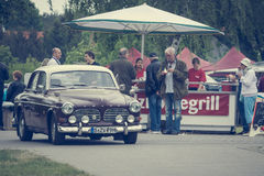 Executive car Volvo Amazon Royalty Free Stock Image