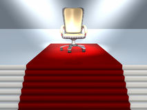 Executive Chair Stock Photo
