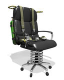 Executive chair hot seat Stock Image