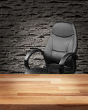 Executive chair in luxury office business concept Stock Photography