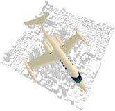 Executive City Jet Stock Photo