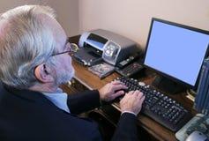 Executive Computer Stock Images