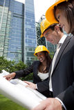Executive Construction Team Royalty Free Stock Image
