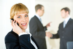 Executive consultant Royalty Free Stock Images