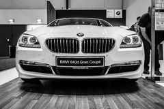The executive coupe BMW 640i Gran Coupe Stock Images