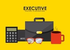 Executive equipment Stock Images