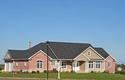 Executive Home. Executive family home stock photo