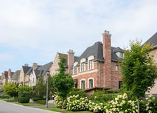 Executive homes Royalty Free Stock Image