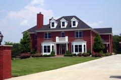 Executive house. A million dollar mansion of an executive Stock Photography