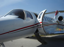 Executive jet 05 Royalty Free Stock Image