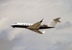Executive jet Stock Photography