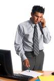 executive kontor för ett felanmälan arkivbild