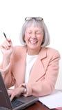 Executive Laugh Stock Photos