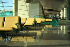 Executive lounge at an airport Royalty Free Stock Photos