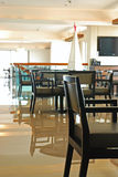 Executive Lounge of a Hotel stock images