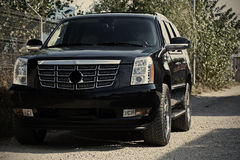 Executive luxury car Stock Images