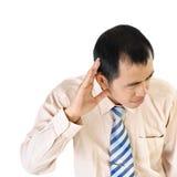 executive lyssna arkivfoton
