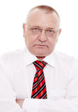 Executive man with crossed arms Royalty Free Stock Photo