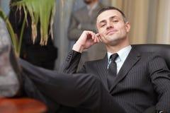 Executive mature businessman Royalty Free Stock Photography