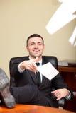 Executive mature businessman Stock Photo