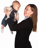 Executive Mother with Child Royalty Free Stock Photography
