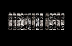 Executive Order Stock Photo