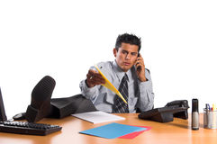Executive Overtime Stock Image