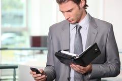 Executive on the phone Stock Photo