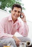Executive On Phone Call Stock Images