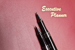 Executive Planner And Pen Series II Stock Images